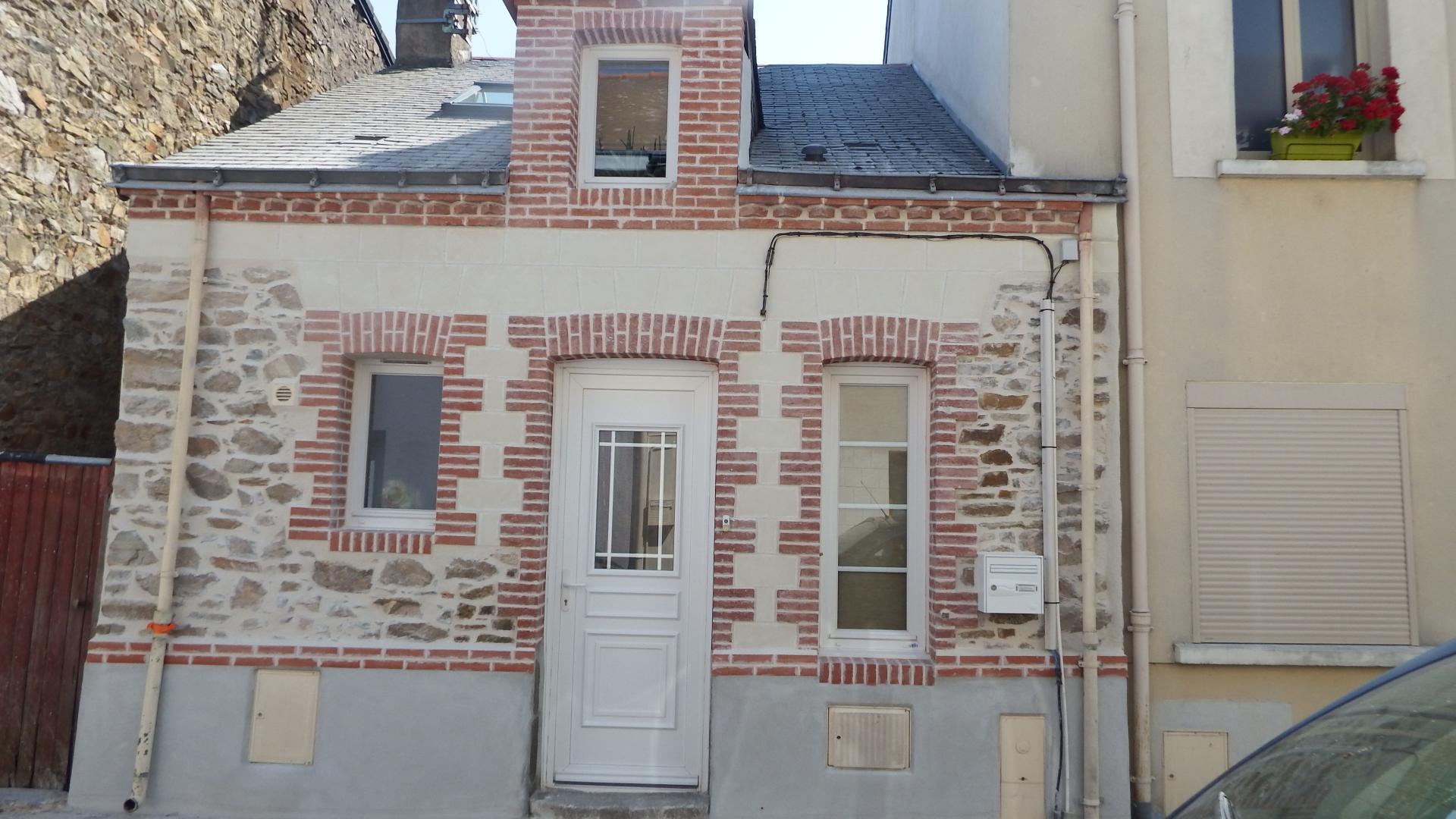 Facade en briques